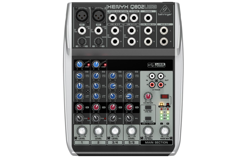 Behringer Q802USB XENYX Mixer