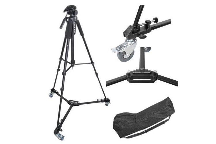 Camcorder Tripod + Dolly