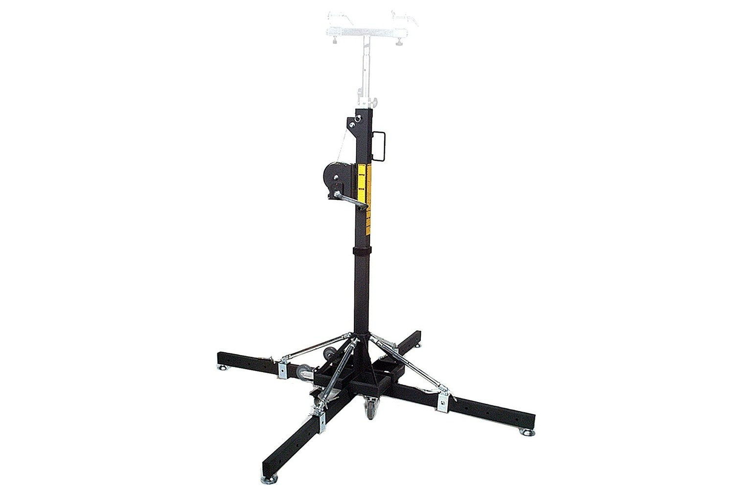 Medium Duty Crank Stand with Outriggers