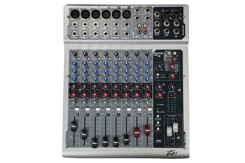 Peavey PV10USB 10 Channel Mixer