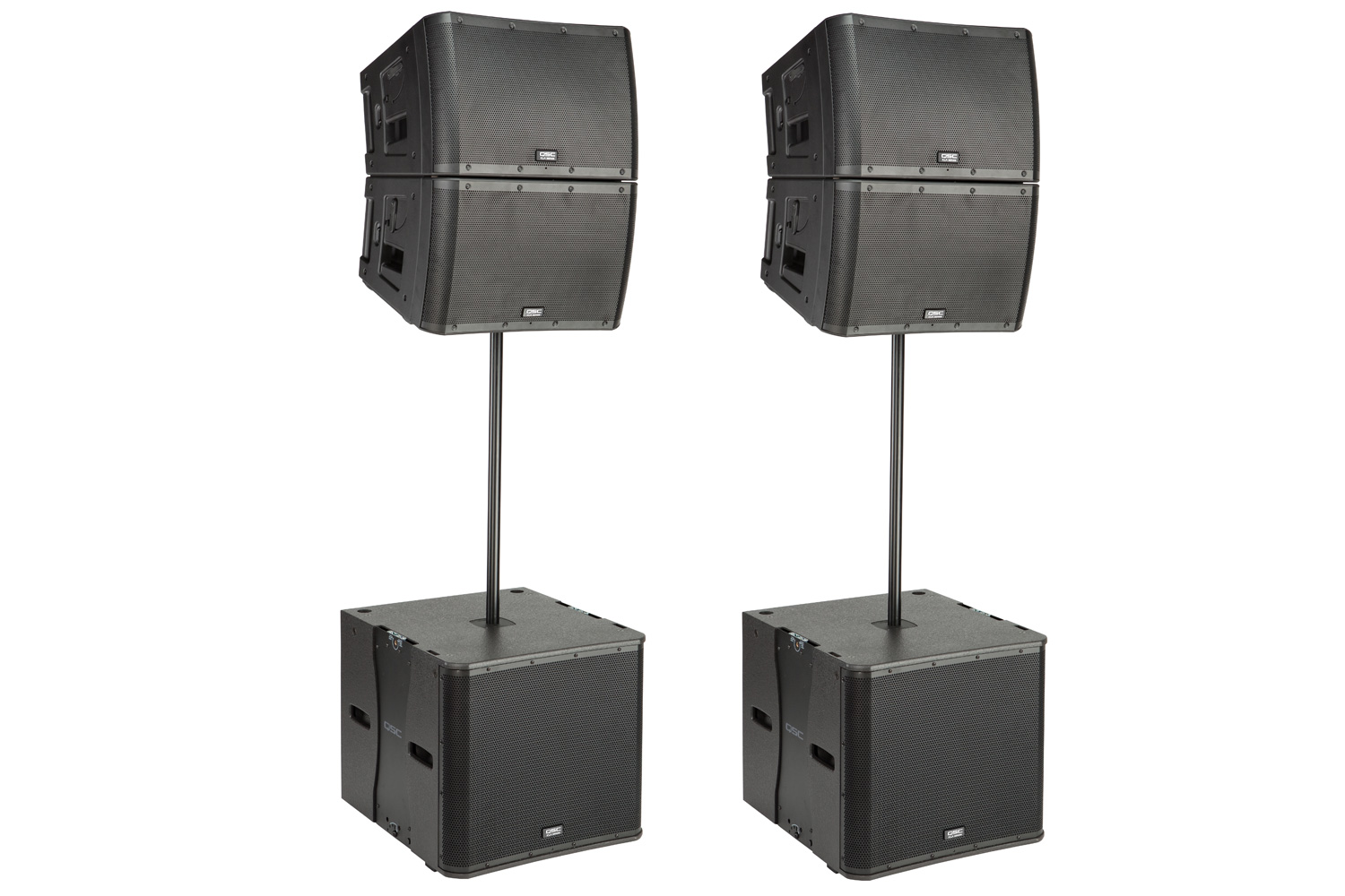 QSC KLA Standing Series Array Package - Professional Series