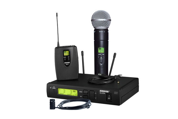 Shure ULX-S with transmitter and Beta 98 H